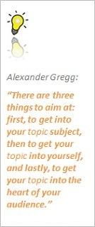 Alexander Gregg Episcopalian Bishop of Texas on public speaking topic aims