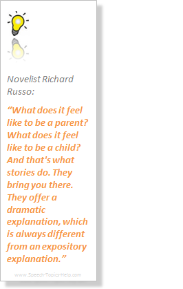 Richard Russo Novelist acknowledges the superiority of stories